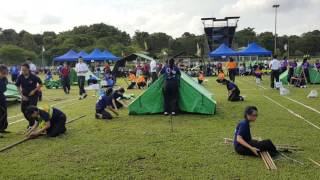Evergreen Sec - Campcraft Competion 2016 (Girls)