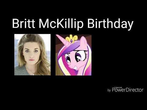 Britt McKillip Birthday