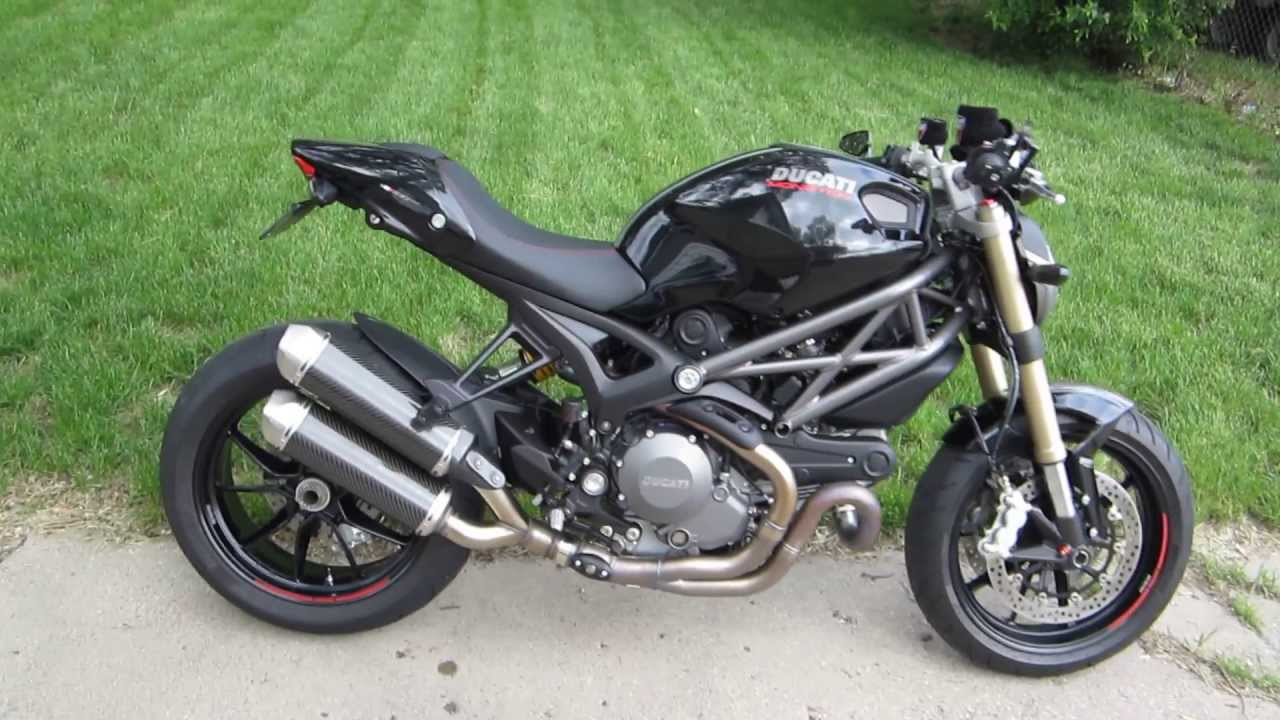 part 2 2013 ducati monster 1100 evo termignoni exhaust w silencers removed youtube. Black Bedroom Furniture Sets. Home Design Ideas