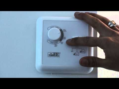 Adjusting Your HRV (Heat Recovery Ventilator)