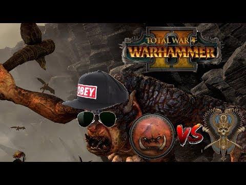 Greenskins vs Tomb Kings | TROLL META CONFIRMED?: Total War Warhammer 2