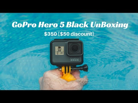 GoPro Hero5 Black UnBoxing - Purchased at $350 + $ 57 shipping charge