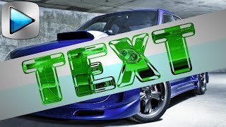 Вкусный рельефный текст в Sony Vegas. Эффектный текст при помощи мультимаски. Уроки видеомонтажа