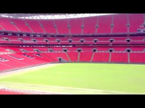 Inside Look Of Wembley Stadium - Largest stadium in the UK with a 90,000 seating capacity