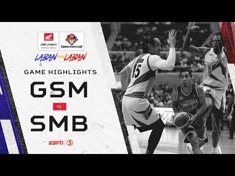 Highlights: Ginebra vs San Miguel | PBA Commissioner's Cup 2019