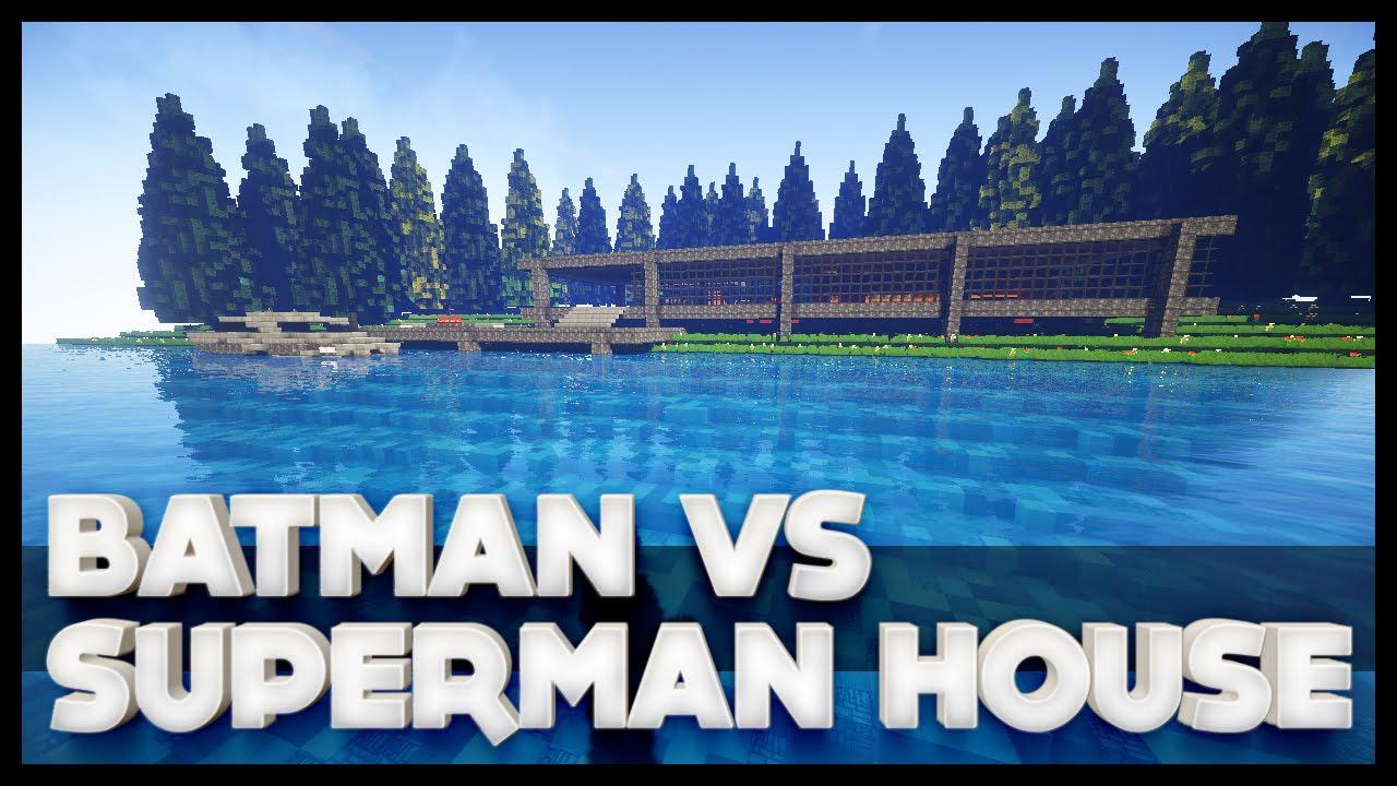 Minecraft - Batman\'s House From Batman Vs Superman - YouTube
