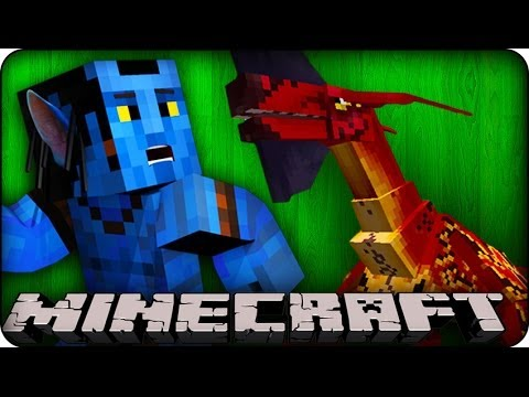 Minecraft - AVATAR MOBS & HUGE EPIC DUNGEONS - Orespawn Mod / CrazyCraft - Showcase