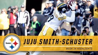 🚨JuJu's Toe-Tap Catch of the Year🚨 | Pittsburgh Steelers