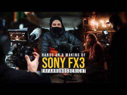 Das kann die neue Sony FX3 - Erfahrungsbericht und Kurzfilmdreh im Schneesturm