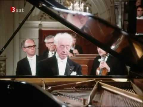 Arthur Rubinstein - Brahms Piano Concerto No.1 [FULL]