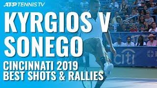nick-kyrgios-v-lorenzo-sonego-entertaining-rallies-great-shots-cincinnati-2019