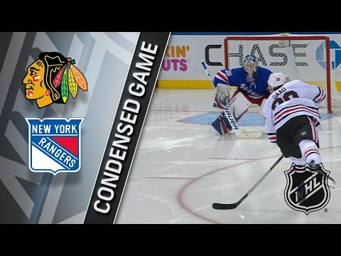 01/03/18 Condensed Game: Blackhawks @ Rangers