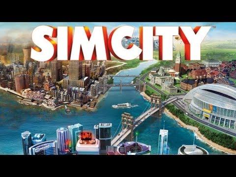 SimCity - Building a City (Sim City 2013 PC Gameplay)