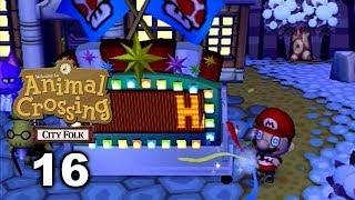 New Year's Eve - Mario Plays ACCF #16 (Animal Crossing: City Folk)