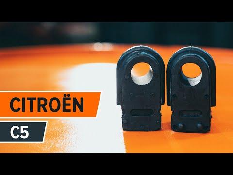 Cómo cambiar los Silentblock Barra Estabilizadora delantero en CITROËN C5 INSTRUCCIÓN   AUTODOC