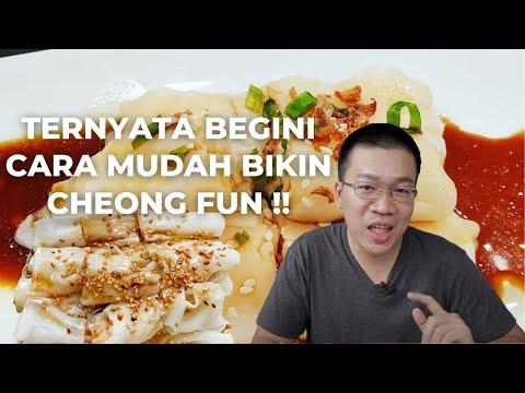 Nambah Ilmu Diajarin Masak Cheong Fun Oleh Uncle Fuk Yen