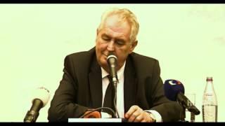 Miloš Zeman vypráví vtip