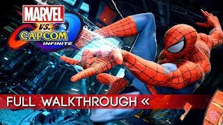 "Marvel vs. Capcom: Infinite | Full ""Story Mode"" Gameplay Walkthrough / No Commentary (1080p HD)"