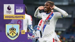Burnley 1-3 Crystal Palace Match Highlights
