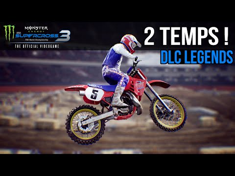2 TEMPS & ANAHEIM 1986 | DLC LEGENDS - Monster Energy Supercross 3 Gameplay