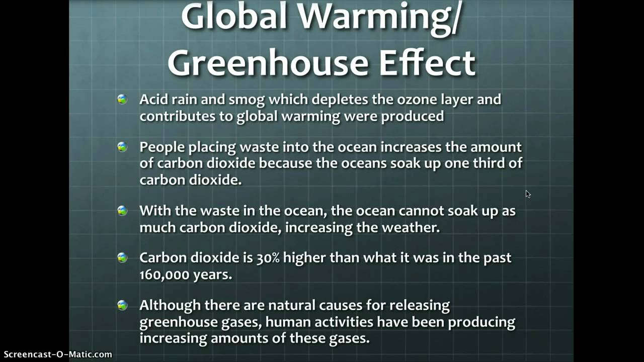 Difference between Global Warming and Greenhouse Effect