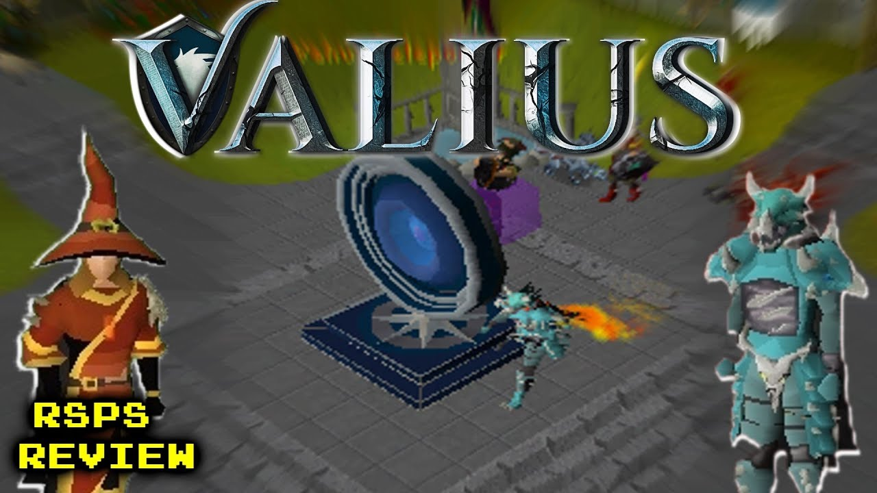 THE MOST UNIQUE OSRS RSPS I'VE EVER SEEN! *AMAZING CUSTOMS* - GIVEAWAY! -  RSPS Review #13 - Valius
