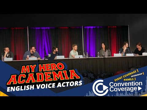 My Hero Academia English Voice Actors [SacAnime Winter 2019] Mp3