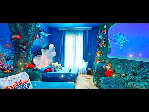 Camera a tema sea life gardaland hotel youtube - Camera a tema ...