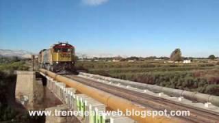 TRENES EN LA WEB ( CHILE ) FCAB CRUZANDO EL RIO LOA