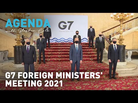 G7 Foreign ministers meeting 2021
