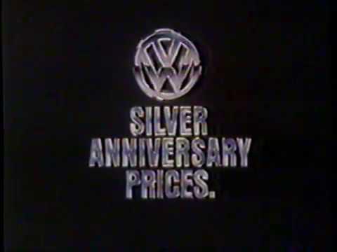 1981 Volkswagen Silver Anniversary Sale TV Commercial