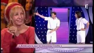 Jérémy Ferrari [76] Lamine Lezghad [52] Ambiance sur le nouveau Costa #ONDAR