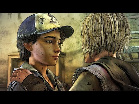 Clementine Dancing With Violet - The Walking Dead The Final Season Episode 3