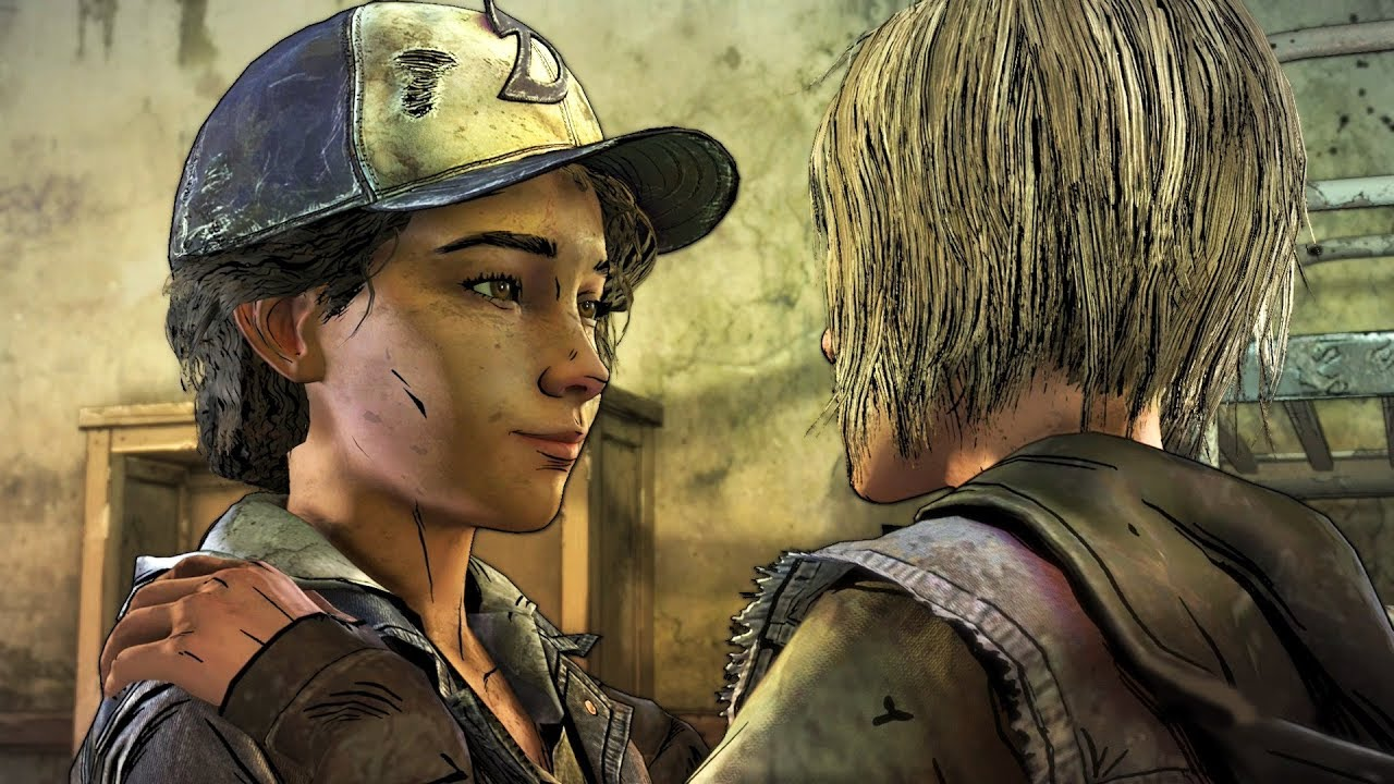 Clementine Dancing With Violet The Walking Dead The Final Season Episode 3