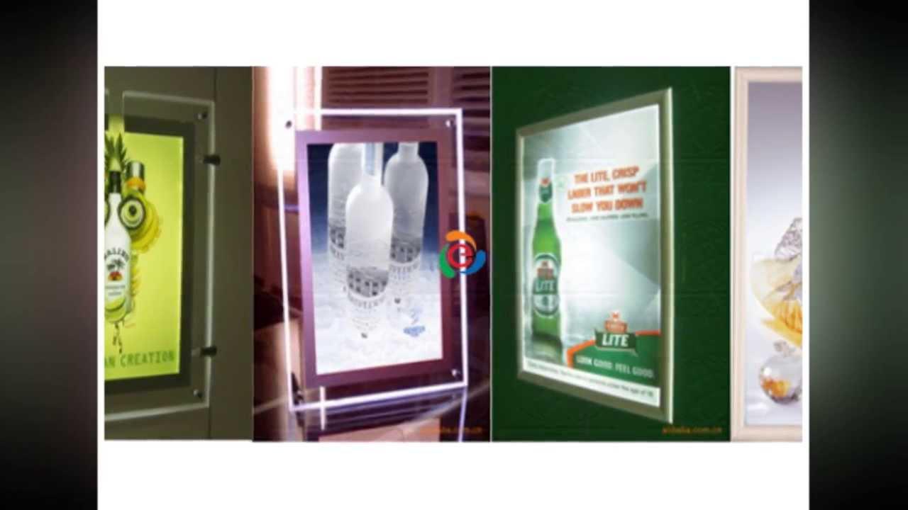 Hộp đèn quảng cáo , hộp đèn siêu mỏng, bảng hiệu hộp đèn