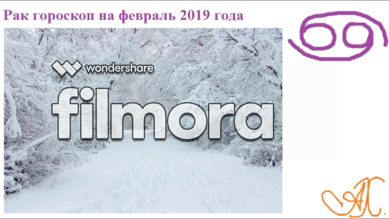 Рак гороскоп на февраль 2019 г.