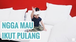 Vlog #161 | SENENG MAIN SOFA DI IKEA, DEKOR CRANIAL HELMET!