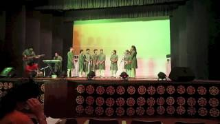 Swaranjali(Hansraj College Music Society) Choir live at LSR