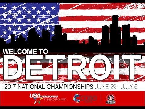 Ring 7 - USA Taekwondo National Championships 2017 Day 1
