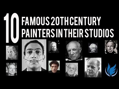 10 Famous 20th Century Artists in Their Studio