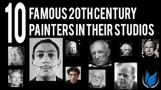 An intimate look at 10 major 20th century artists in their studios....