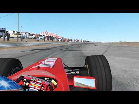 Ferrari F300 Hotlap at Riverside Raceway
