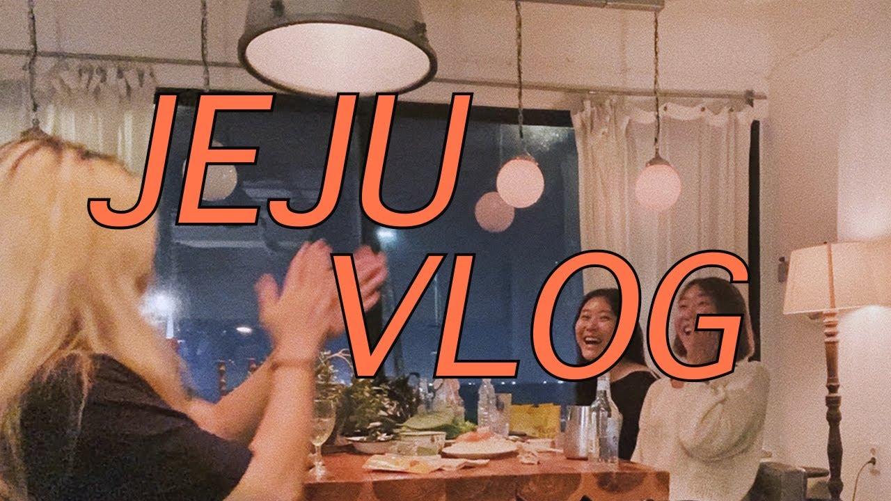 Jeju Vlog 🍊 5kg 증량(?) 2박 3일 제주 브이로그 / 맛잘알 디디미니의 제주 찐맛집 다수 수록! / 가을 제주 '브루네스테이'에서 쿠킹클래스를 하게되었지우🍳