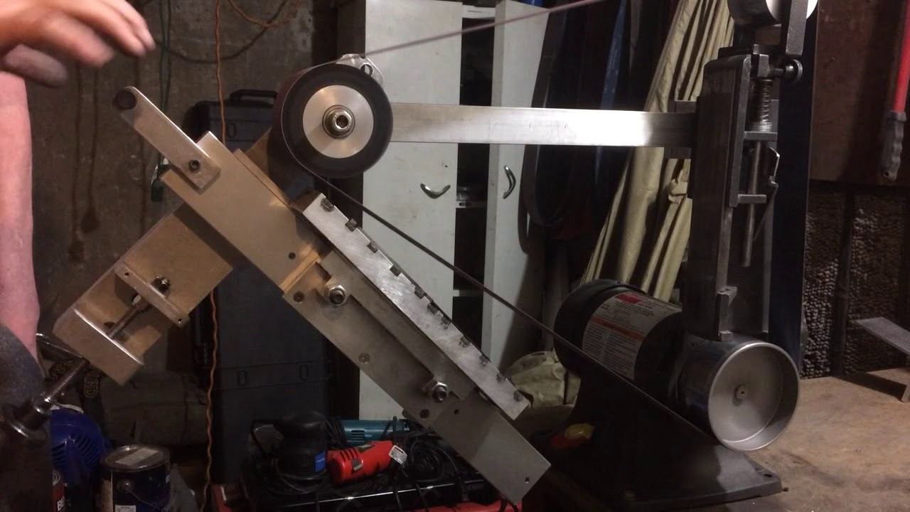 Surface Grinder Attachment (home built
