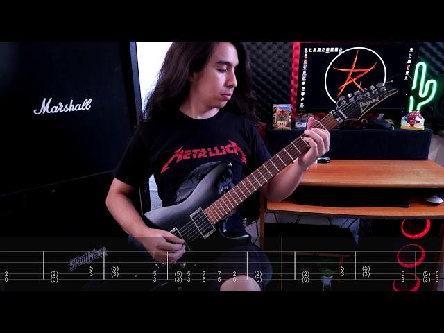 Skull Metal - Obscura Confusión (Tab + Playthrough video )