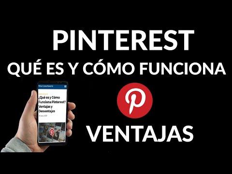 Qué es y Cómo Funciona Pinterest