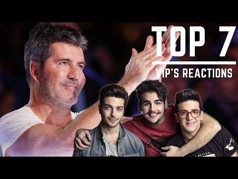 IL VOLO - TOP 7 Celebrity Audience Reaction