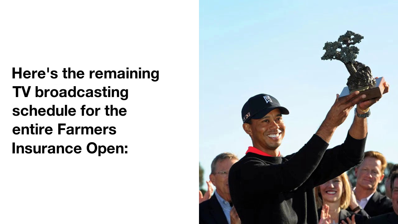 LIVE BLOG: Follow Tiger Woods at the Farmers Insurance Open