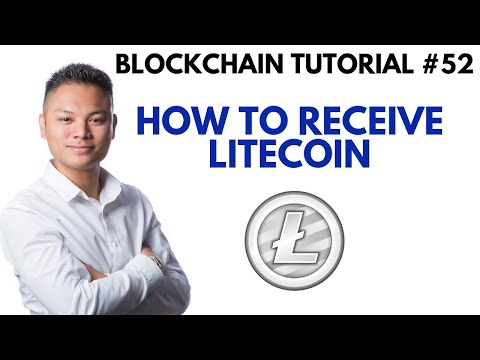 Blockchain Tutorial #52 - How To Receive LTC Using A Litecoin Core Wallet
