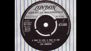 Lou Johnson - A Time To Love, A Time To Cry London 1965.wmv